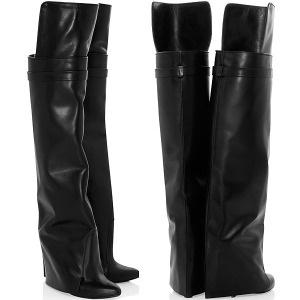 Givenchy-leather-wedge-boots