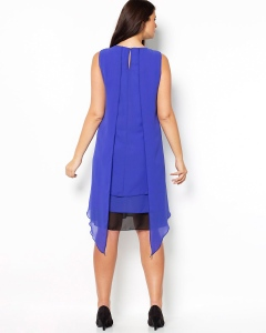 This blue dress is from Taillissime