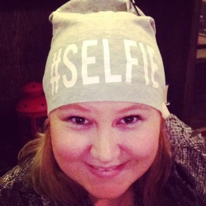 Ami got me this hat. #selfie