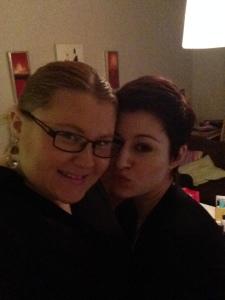 Majda & I
