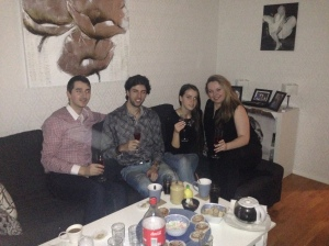 J, Almir, Nejra and Ami