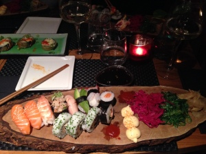East West has the best sushi in Sweden