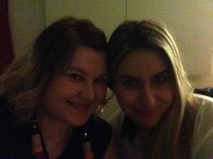 Azra and I