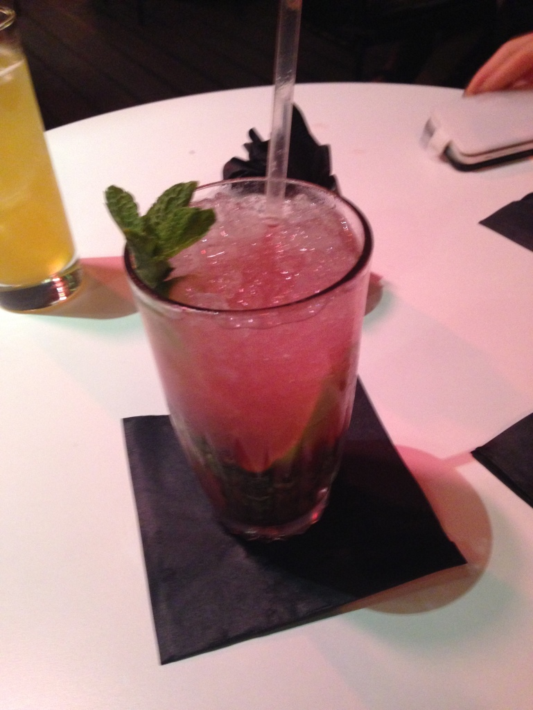 Strawberry mojito, YUM